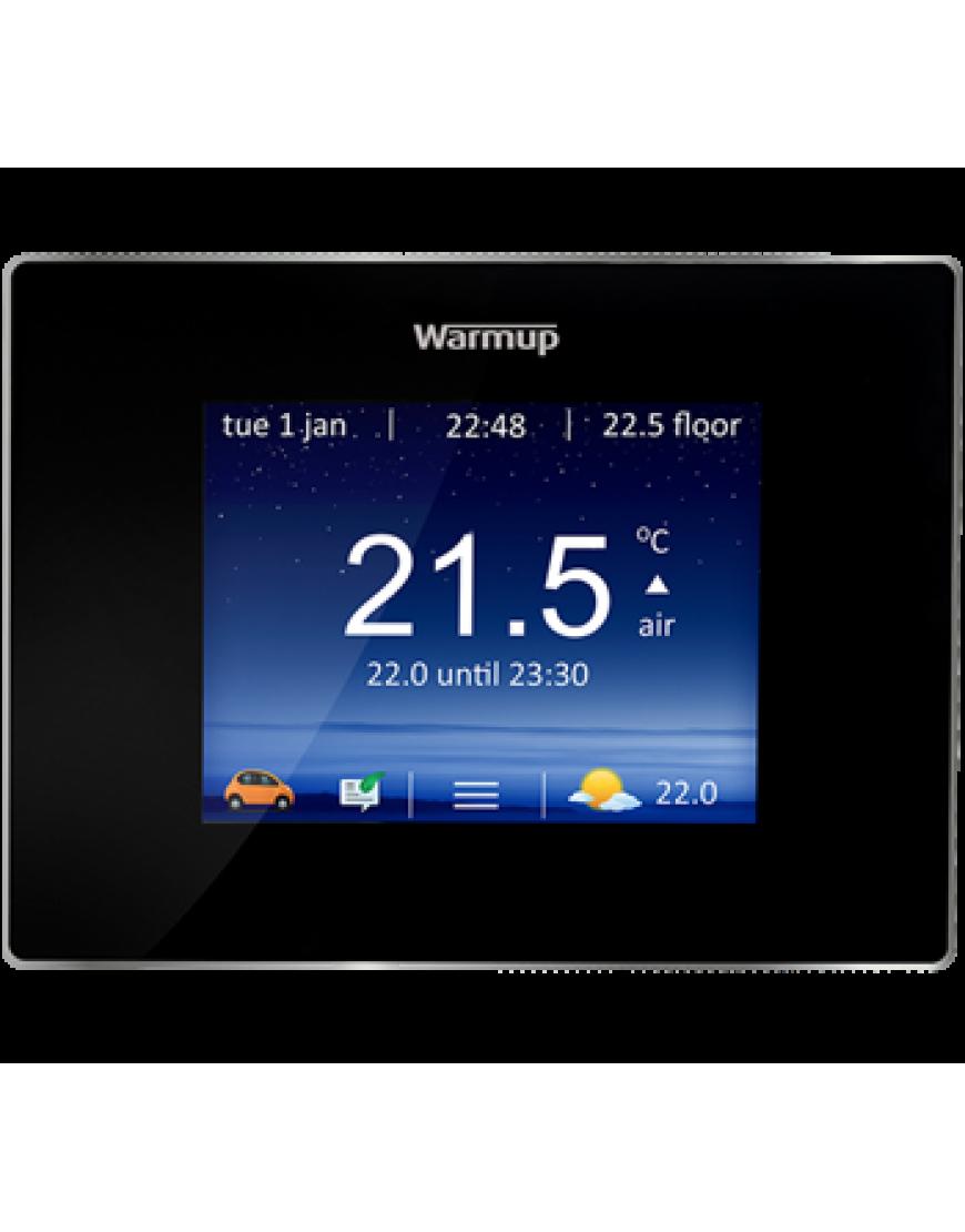 Termostat Programabil , Warmup , culoarea neagra , control telefon , reglaj automat , 4iE WIFI OB