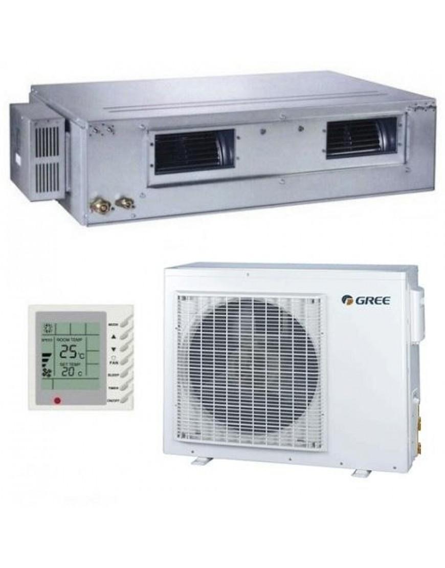 Aparat ,Aer conditionat,Gree, tip duct, inverter, Senzor temperatura , aer proaspat, 12000 BTU , GFH12K3Fi-GUHD12NK3FO